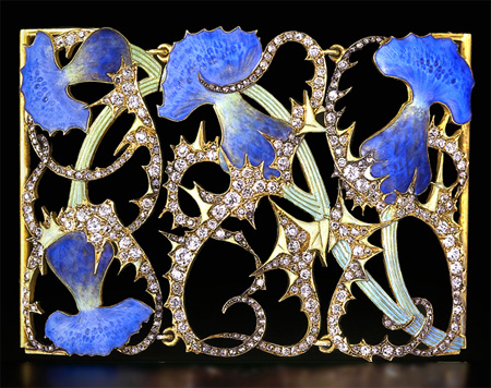 lalique thistle collar