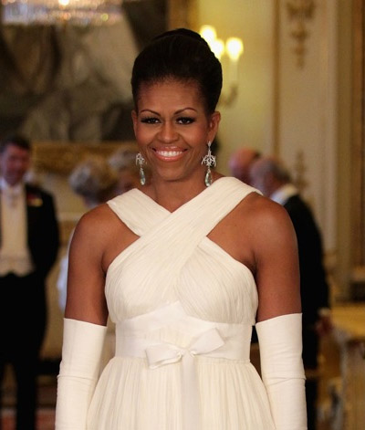 Michelle Obama's kick-ass earrings