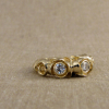 pond lily ring with diamonds