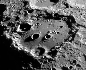 Clavius crater by Michael Karrer