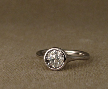 7mm Old European Cut solitaire