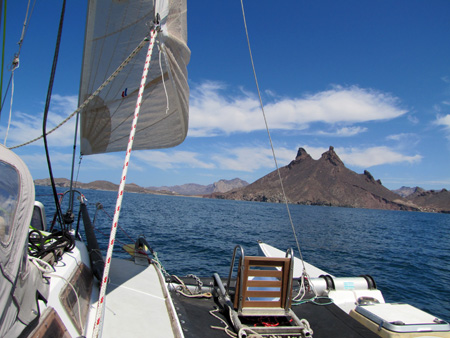 Sailing in the Sea of Cortez