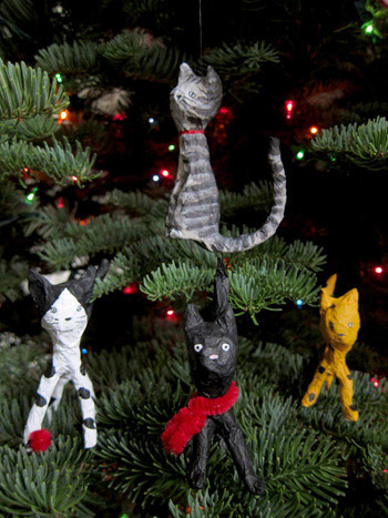 Jenny & the Cat Club ornaments
