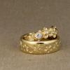 melissa + oli's wedding rings