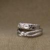 ouroboros & pacific NW wedding bands