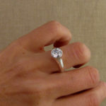 1.5ct Geometric Art Deco Solitaire