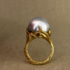 giant tentacled baroque pearl solitaire