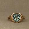 tourmaline zodiac ring