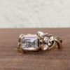 emerald cut lily solitaire
