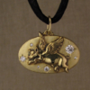 flying pig pendant
