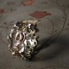 art nouveau and mistletoe rings