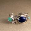 multi-stone cuff bracelet