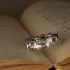 ginkgo eternity rings