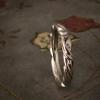 art nouveau leaf band
