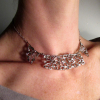 mistletoe collar necklace