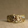 mermaid and shell ring