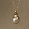 baroque pearl drop + snake