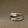 ouroboros & pacific NW wedding bands