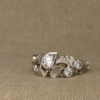 scattered ginkgo & diamonds
