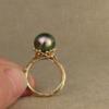 new sea-tendril pearl solitaire