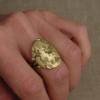 intaglio signet-style ring