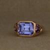 chunky 3-stone ring